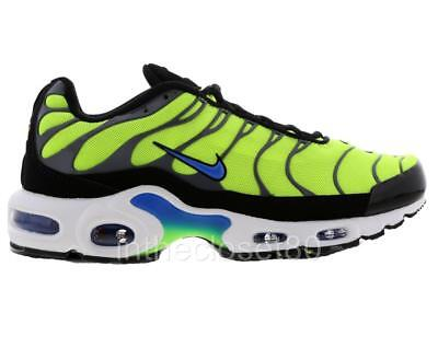 c7771be768 Nike Air Max Plus Tn Tuned Volt Green Yellow Blue Black Mens Trainers  852630 700