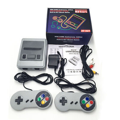 Retro Classic Home Video Game Console Built-in 620 Games with 2 Controllers