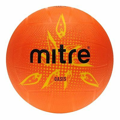 Mitre Kids Oasis Netball Ball Outdoor Football Print