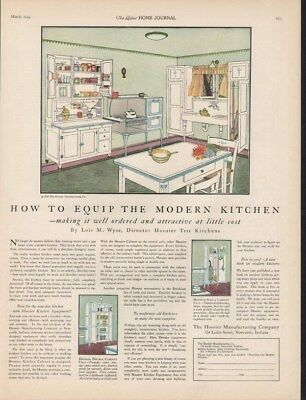 1924 Hoosier Kitchen Lois Wyse Table Chair Newcastle Ad14865