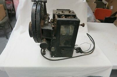 Antique Simplex Movie Projector Very Early Patent July 1916