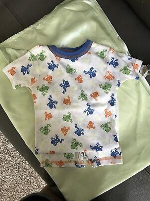 Boys Carters New Frog Pajamas Size 18mo Glow In The Dark