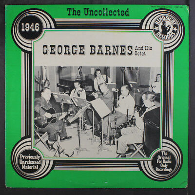 GEORGE BARNES: AND His Octet, 1946 LP (some seam wear, sm corner bends, 2  sm co