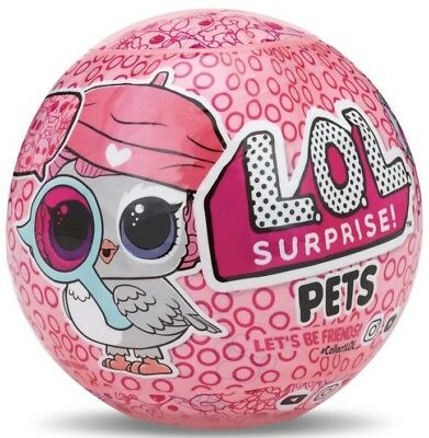 L.O.L. Surprise Pets Ball Series 4-1A/B New MGA Pets & Animals Plastic 3 in