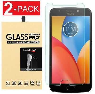 [2-PACK]  For Motorola Moto E4 / E4 Plus Tempered Glass Screen Protector