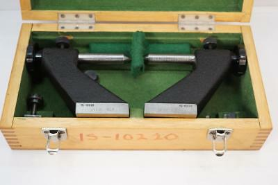 Beautiful Toolmakers Precision Bench Centers. w/ T-Slot mounts