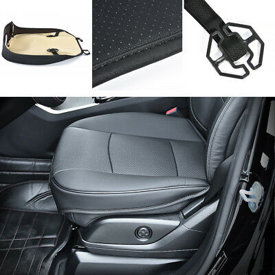 Hot 3D Black PU Leather Full Surround Car Seat Protector Seat Cover Accessories