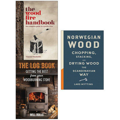 Wood Fire 3 Books Collection Set Norwegian Wood Best From Your Woodburning Stove