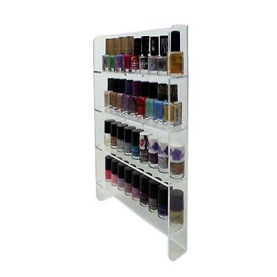 4 Tier Wall Mounted Nail Polish Display, Beauty, Spa Cosmetic Retail (DS67/C)