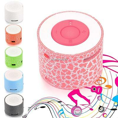 Mini Portable LED Speakers Wireless Hands Free Speaker with TF Port N4U8 01