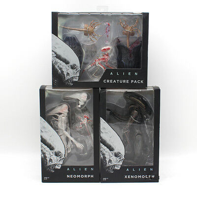 "NEW NECA Alien Movie Warrior Xenomorph 7"" PVC Action Figure Collection"