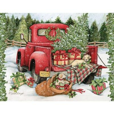 Christmas Journey Assorted 5.375 In X 6.875 In Boxed C, Christmas Cards by Lang