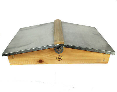 National Beehive Gabled Roof Pine Assembled by Bee Beautiful