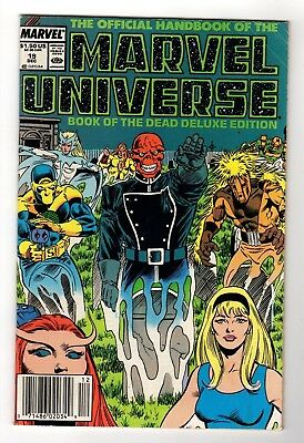 Marvel Comics The Official Handbook of the Marvel Universe #19 Copper Age