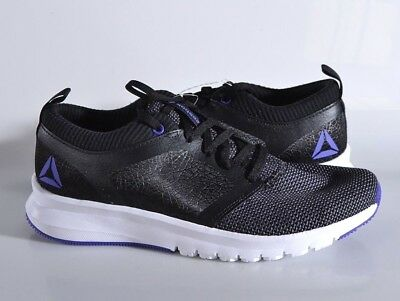 a5e1e8227d8775 NEW Reebok Women s 10 MED Print Athlux Shatr Running Shoes Black Grey CN5928