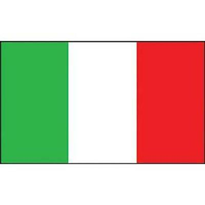 Italy Flag with Grommets 2ft x 3ft