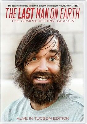 THE LAST MAN ON EARTH COMPLETE FIRST SEASON 1 New Sealed 2 DVD Set
