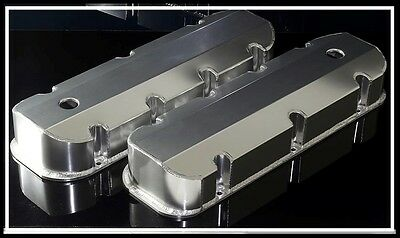 Bbc Big Block Chevy 396 454 496 Fabricated Tall Aluminum Valve Covers 6248-Satin