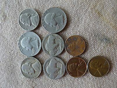 9 Assorted Usa Coins