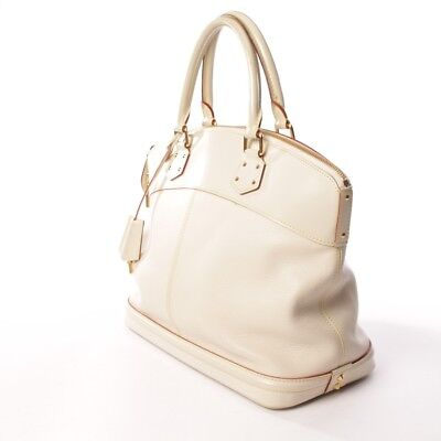 82636d99051d1 LOUIS VUITTON Handtasche Beige Damen Tasche Suhali Lockit MM Bag Sac Tote LV