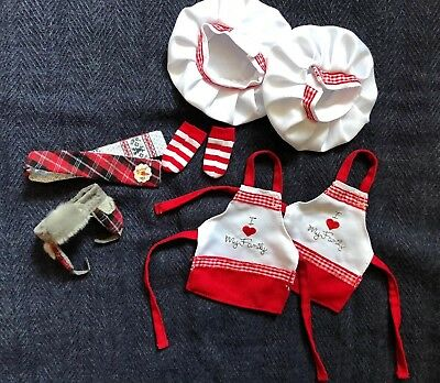 Christmas Elf Official Clothes Chef Scarf Etc Lot