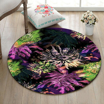 7e966e704b Mandala Zen Lotus Area Rug Non-slip Floor Yoga Mat Living Room Home Decor  Carpet