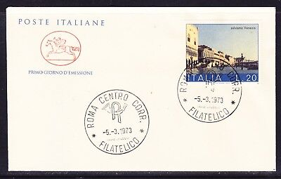 "Italy 1973 Venice  ""Official""  First Day Cover Unaddressed"