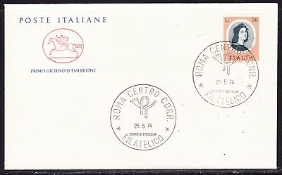 "Italy 1974 Painters - Raphael   ""Official"" First Day Cover Unaddressed"