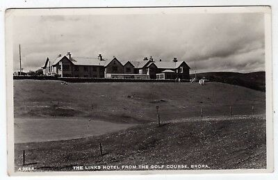 Scotland, Brora, The Links Hotel From The Golf Course, Rp