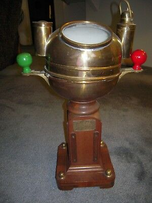 antique compass binacle