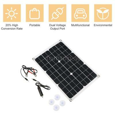 Waterproof Polycrystalline 5.5W 12V Solar Panel Board Battery Charging Charger