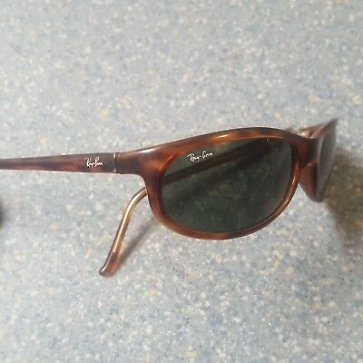 4e7636a1658810 RAY-BAN TORTOISE SHELL Brown Sunglasses Wrap Made in Italy Light RB 4010 -   26.00   PicClick