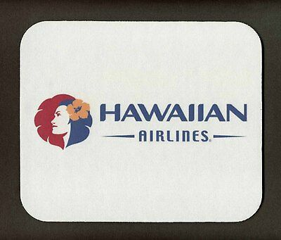 "HAWAIIAN  AIRLINES  Mouse Pad  - #1   ""FREE SHIPPING"""