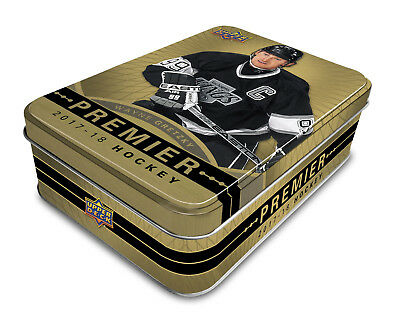 2017-18 Upper Deck Premier Hockey Hobby Box Sealed New