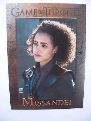 Game Of Thrones Season 7 Foil Parallel Base Card #32 Missandei