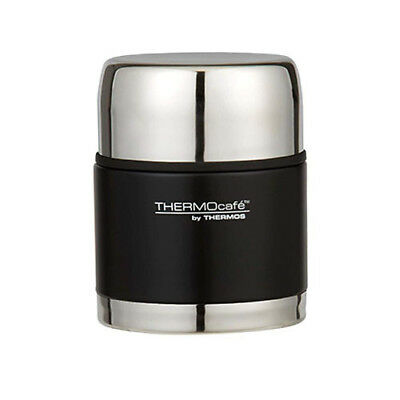 MATTE BLACK Thermos THERMOcafe  500mL Stainless Steel Vacuum Insulated Food Jar