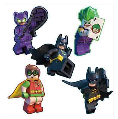 """20 Lego Batman Movie Shaped Stickers, Approx 2"""" x 2.25"""" Each, Party Favors"""