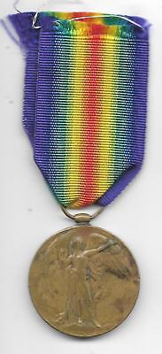 British World War I Victory Medal To 4814 Sepoy Nur Hussain 1-89 Pbis (Fm 220)