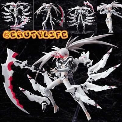 OTU213 Japanese Anime Black Rock Shooter Figma ACTION Ver. Collection Figure Toy