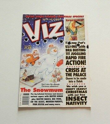 Viz Magazine                Issue Number 69                      Dec/jan 1994/5