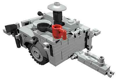 CUSTOM building INSTRUCTION Opel Blitz Funkwagen to build out of LEGO® parts
