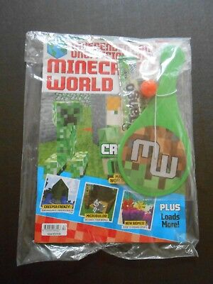 Minecraft World Magazine Issue 42 August 2018 & ### FREE GIFTS ###