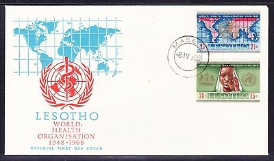 Lesotho 1968 World Health Organisation First Day Cover