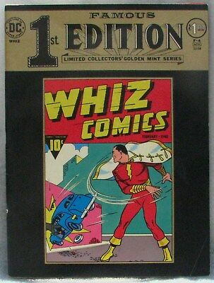 Whiz Comics 2 Famous First Edition F4 FN 5.5 1974 Captain Marvel Ibis C C Beck