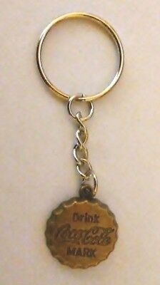 Coca Cola Key Chain--Bottle Cap (Bronze Color)