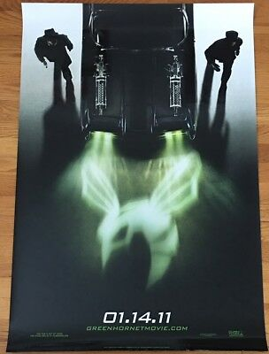 THE GREEN HORNET 2011 Original 1-Sheet Advance DS 27x40 Movie Poster; Seth Rogen