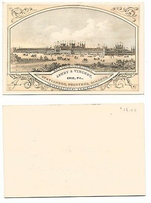 1876 International Expo Advertising Card Main Building - Ashby & Vincent   #25