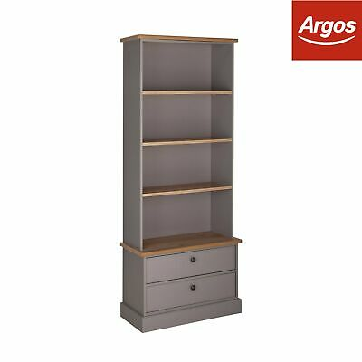 Argos Home Winchester Bookcase - Grey