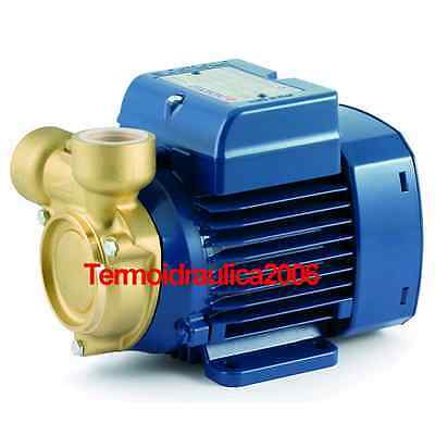 Electric Peripheral Water Pump PQ 65-Bs 0,7Hp Brass body impeller 400V Pedrollo