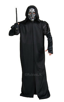 Death Eater Fancy Dress Costume Outfit Mens Male Harry Potter Cosplay Halloween